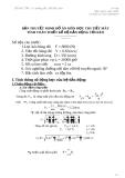 Bản thuyết minh đồ án môn học chi tiết máy tính toán thiết kế hệ dẫn động tời kéo