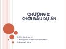 Bài giảng quản lý dự án - Chương 2