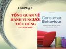 Hành vi người tiêu dùng (Liên Phước) - Chương 1
