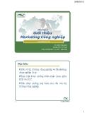 Marketing công nghiệp ( Đinh Tiên Minh ) - Chương 1