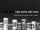 Nợ xấu ngân hàng thương mại Việt Nam
