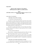 Quản lý nhà nước về tài nguyên và môi trường - Chuyên đề 3