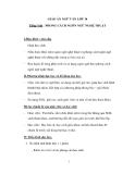 Giáo án tuần 28 ngữ văn 10: Phong cách ngôn ngữ nghệ thuật