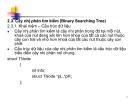 Bài 2.3:Cây nhị phân tìm kiếm