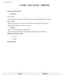 Giáo án bài 42: Luyện tập dẫn xuất Halogen, Ancol và Phenol – Hóa học 11 – GV.Ng Ái Phương