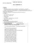 Giáo án bài 33: Kính hiển vi - Vật lý 11 - GV.Vũ Đình Trường