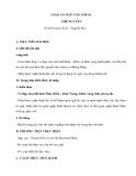 Giáo án ngữ văn 10: Thề nguyền - Truyện Kiều - Nguyễn Du