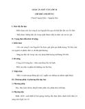 Giáo án ngữ văn 10: Chí khí anh hùng