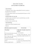 Ngữ văn 10 tuần 29 - Giáo án: Lập luận trong văn nghị luận