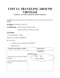 Bài 11: Traveling around Vietnam - Giáo án Tiếng Anh 8 - GV.Vũ T.Tùng
