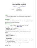 Giáo án Tiếng Anh 8 unit 16: Inventions