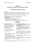 Giáo án Sinh học 12 bài 32: Nguồn gốc sự sống