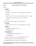 Ngữ văn 9: Luyện tập phân tích và tổng hợp - Giáo án tuần 18