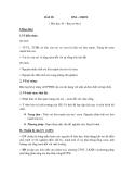 Giáo án Oxi – Ozon – Bài 29 hóa học 10