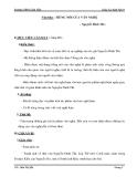 Giáo án ngữ văn 9: Tiếng nói của văn nghệ