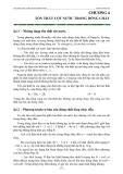 Giáo trình thủy lực - Ths. Lê Minh Lưu - Chương 4