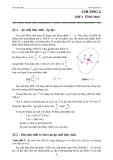 Giáo trình thủy lực - Ths. Lê Minh Lưu - Chương 2
