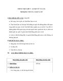 Giáo án bài Mở rộng vốn từ nam nữ - Tiếng việt 5 - GV.Hoàng Thi Thơ