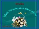 Bài giảng Sinh học 12 bài 35: Môi trường sống và các nhân tố sinh thái
