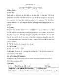 Giáo án bài 38: Sự chuyển thể của các chất - Vật lý 10 - GV.D.Dương