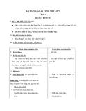 Giáo án Tiếng việt 5 tuần 31 bài: Bầm ơi