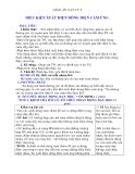 Giáo án Vật lý 9 bài 32:  Điều kiện xuất hiện dòng điện cảm ứng