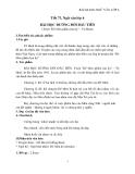 Giáo án Ngữ văn 6 bài 18: bài học đường đời đầu tiên