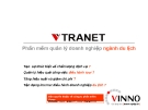 Vtranet - Phần mềm quản lý doanh nghiệp ngành du ịch