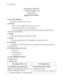 Giáo án Sinh học 11 bài 23: Hướng động