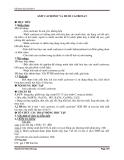 Axit cacbonic và muối Cacbonat – Giáo án bài 29 hóa học lớp 9