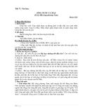 Giáo án Ngữ văn 6 - Sông nước Cà Mau – Đoàn Giỏi