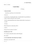 Giáo án Ngữ văn 6 bài 21: Vượt thác
