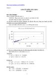 Kinh tế lượng ứng dụng - Bài tập 1