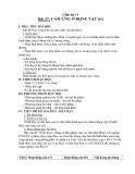 Giáo án Sinh học 11 bài 27: Cảm ứng ở động vật (TT)
