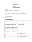 Giáo án bài Sang năm con lên bảy – Tiếng việt 5 - GV.Huỳnh Mai