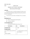 Giáo án bài Mở rộng vốn từ quyền và bổn phận - Tiếng việt 5 - GV.N.Hoài Thanh