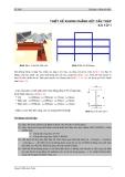 Bài tập etabs thiết kế kết cấu công trình:  Thiết kế khung phẳng kết cấu thép