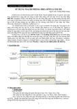 Hướng dẫn sử dụng Macromedia dreamweaver mx