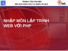 Nhập môn lập trình web với PHP - Bài 1: Tổng quan về lập trình web php