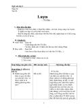 Giáo án Ngữ văn 6 bài 24: Lượm