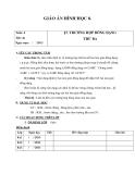 Giáo án bài: Trường hợp đồng dạng thứ ba - Hình học 8 - GV.Đ.T.Toàn