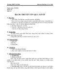 Giáo án Sinh học 11 bài 30: Truyền tin qua Xináp