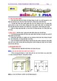 Tính toán dây quấn biến áp 1 pha - ĐH Bách khoa