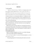 Đồ án:Thiết kế hệ thống thông tin quản lý bán hàng