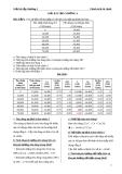 Bài tập và bài giải kinh tế vĩ mô- Chính sách tài chính