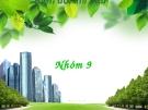 Bài thuyết  trình về biến đổi khí hậu