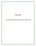 Tiểu luận:Cơ chế đàm phán 6 bên bán đảo Triều Tiên