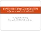 Phân tích chính đối ngoại Việt Nam thời kỳ đổi mới