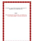 Tiểu luận:Bùng nổ dân số và dân số già-Tác động của vấn đề trong quan hệ quốc tế và hướng giải quyết