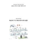 Bài giảng Mạng và truyền số liệu
